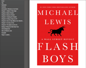 Flash Boys cover and TOC