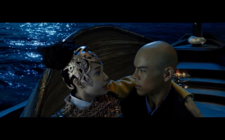 LEAGUE OF GODS US Trailer (2016) Fantasy Movie - Pix 09 - Actors in Boat