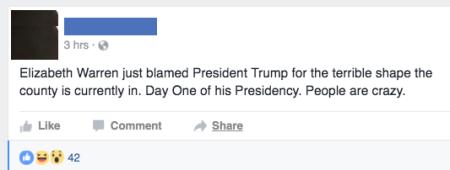 20170121-elizabeth-warren-just-blamed-president-trump-on-day-one