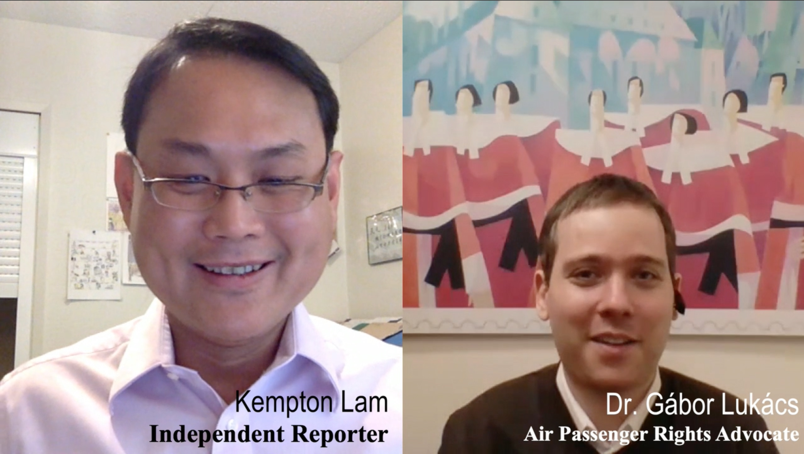 Air Passenger Rights Advocate interview at Supreme Court post Dr. Gábor Lukács' oral arguments - thumbnail